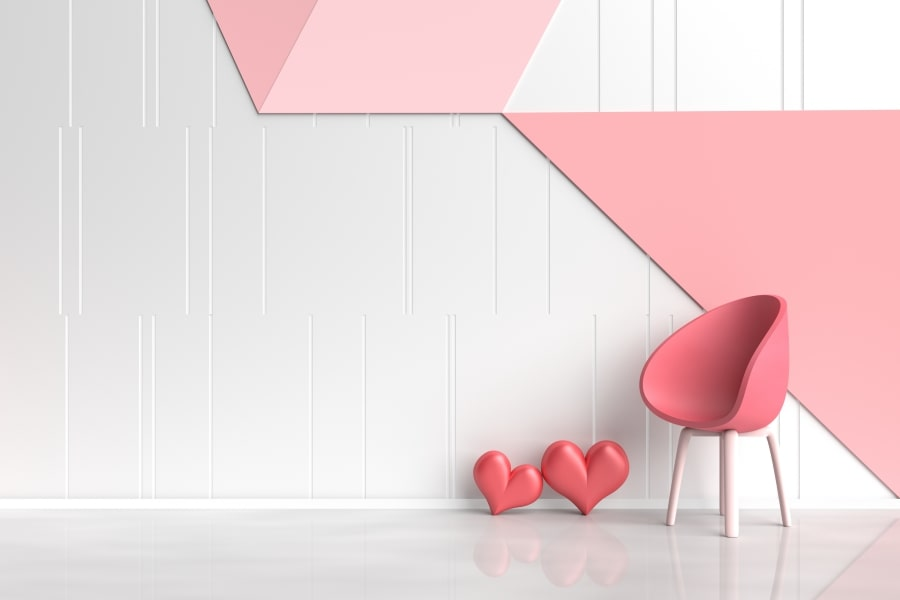 Pink Home Decor Paint